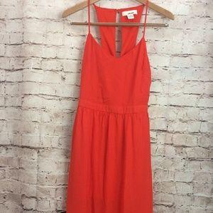 Sans Souci Blood Orange Sleeveless Maxi Dress SM